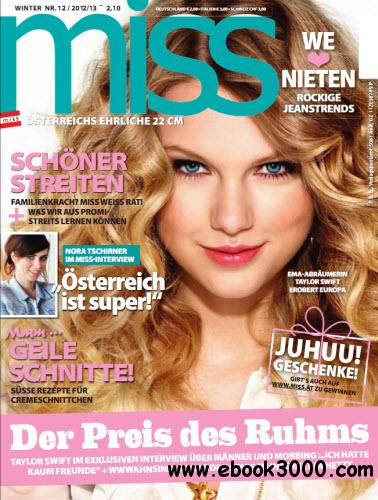 Miss Magazin Dezember No 12 2012 free download