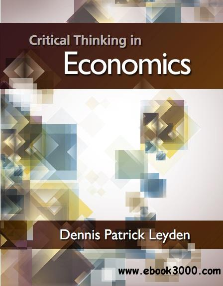 Critical Thinking in Economics free download