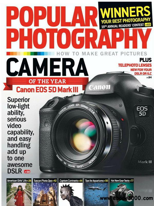 Popular Photography - January 2013 free download
