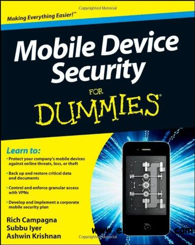 Mobile Device Security For Dummies free download