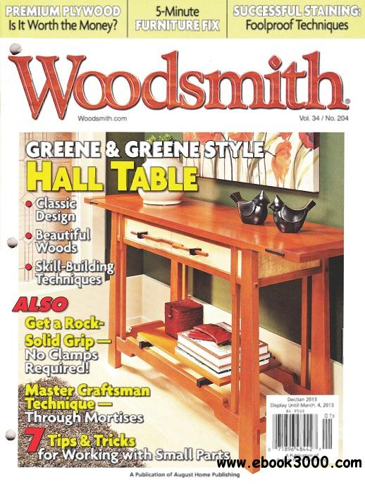Woodsmith Magazine #204 free download