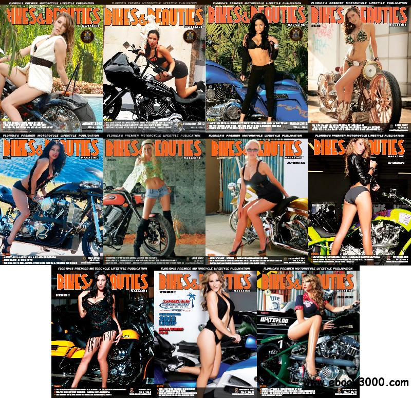 Bikes and Beauties 2012 Full Year Collection free download