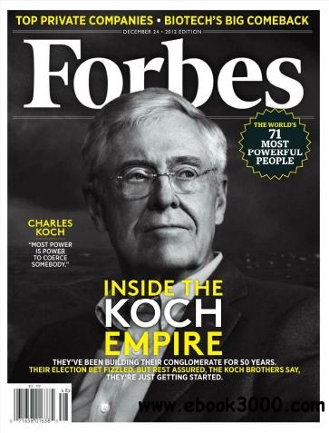 Forbes USA - 24 December 2012 free download