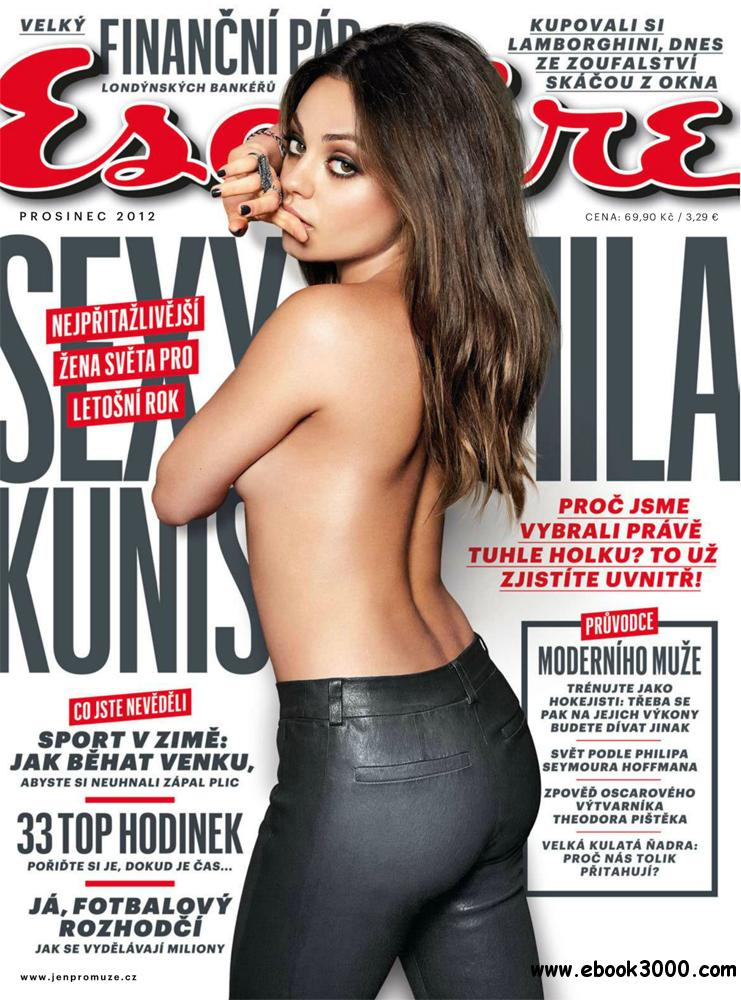 Esquire December 2012 (Czech Republic) free download