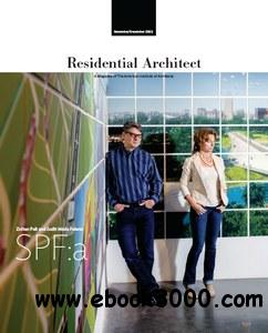 Residential Architect - November/December 2012 free download