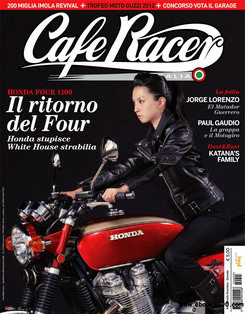 Cafe Racer Dicembre 2012 - Gennaio 2013 (Italy) free download
