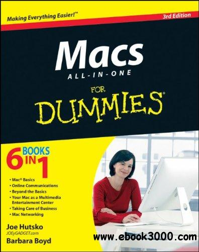 Macs All-in-One For Dummies, 3 edition free download