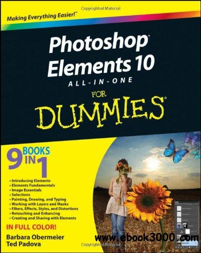 Photoshop Elements 10 All-in-One For Dummies free download