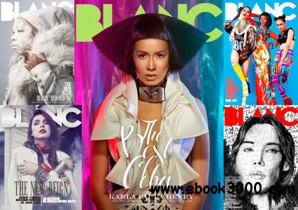 BLANC Magazine 2012 Full Year Collection free download