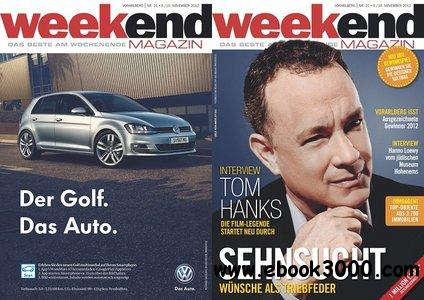 Weekend - November 2012 (N 21) free download