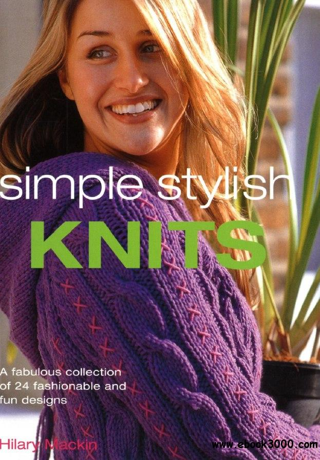 Simple Stylish Knits free download