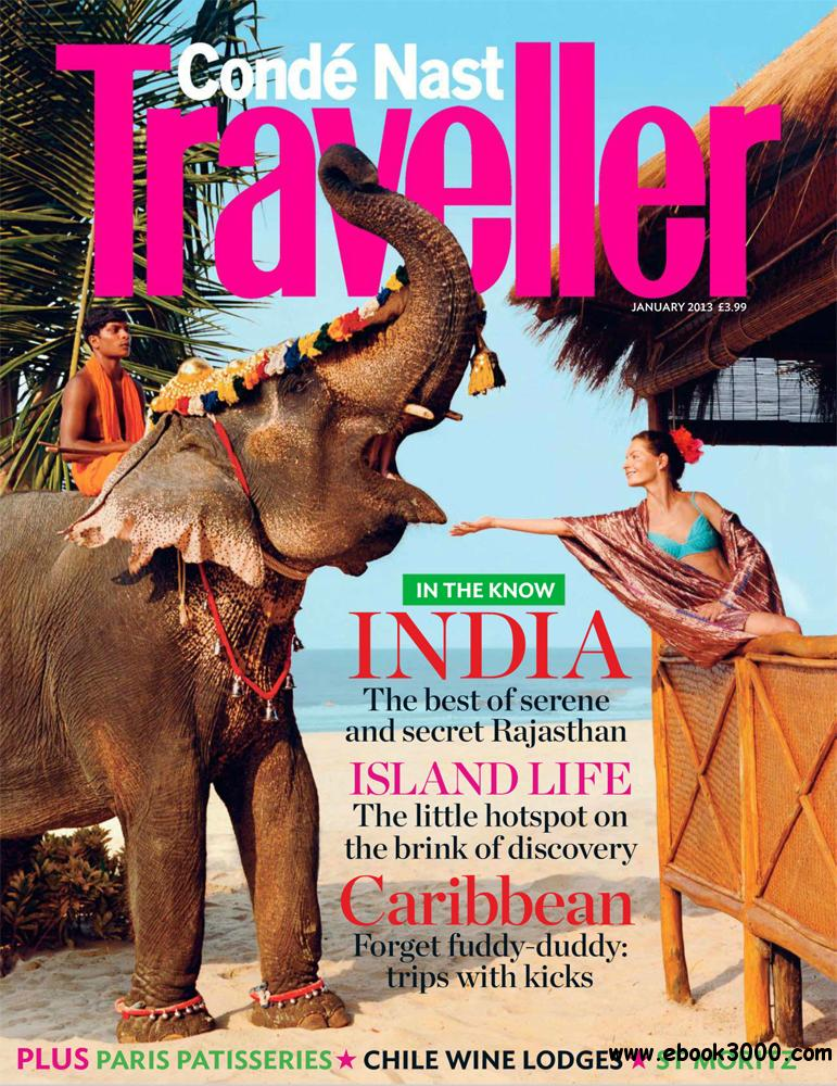 Conde Nast Traveller January 2013 (UK) free download