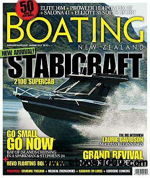 Boating NZ - January 2013 free download