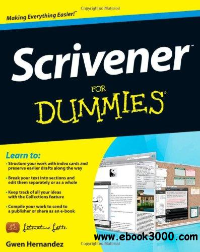 Scrivener For Dummies free download