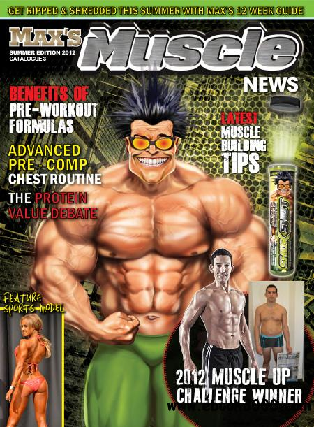 MAX'S Muscle News - Summer 2012 free download