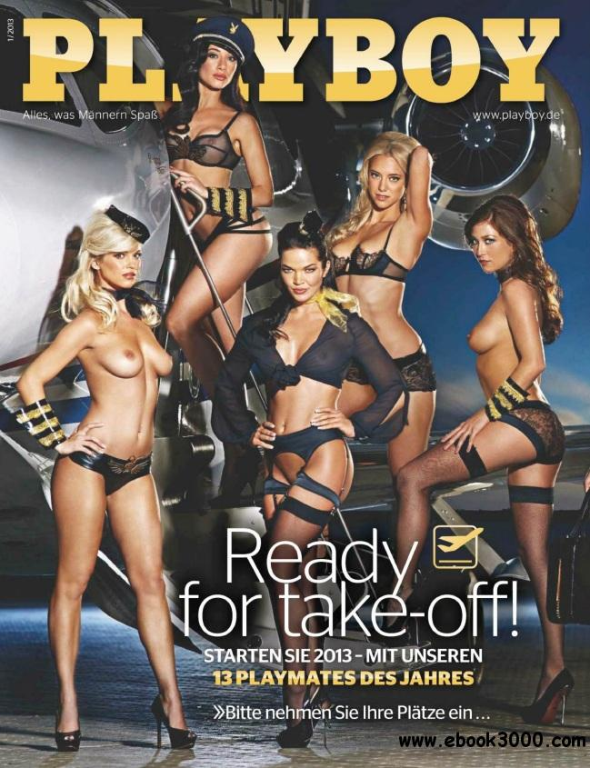 Playboy Germany - January 2013 free download