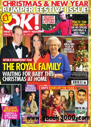 OK! First for Celebrity News N.859 - January 1, 2013 free download