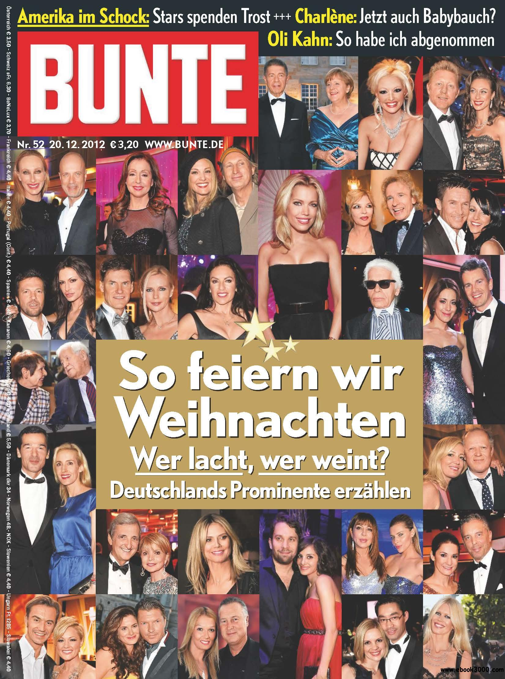 BUNTE Magazin 52/2012 free download