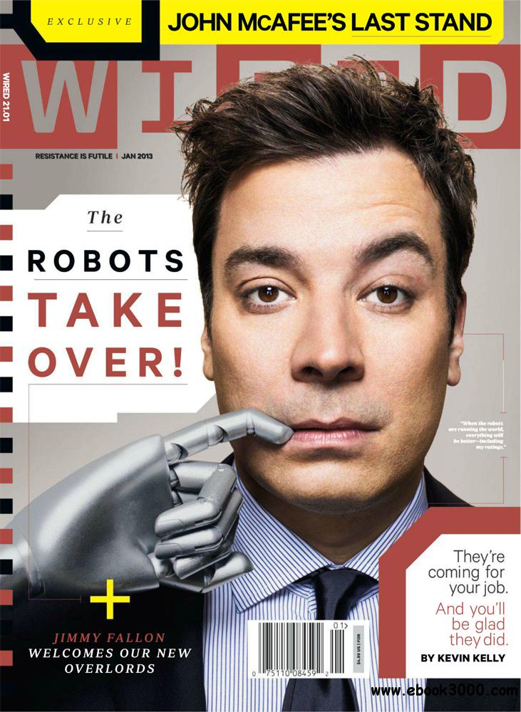 WIRED January 2013 (USA) free download