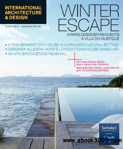 international architecture design magazine winter 2013
