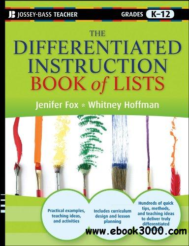 The Differentiated Instruction Book of Lists free download