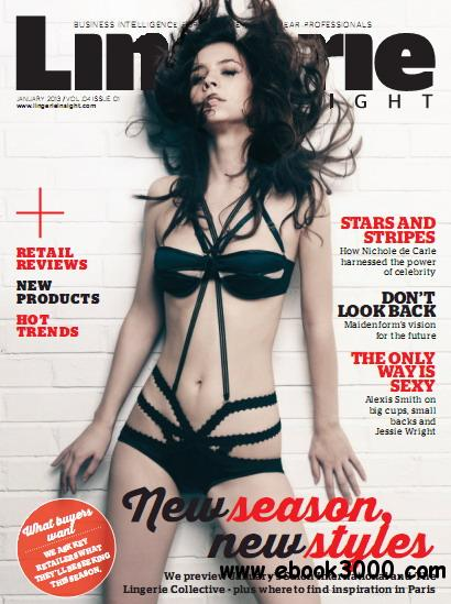 Lingerie Insight Magazine January 2013 free download