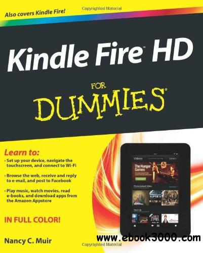 Kindle Fire HD For Dummies, 2nd edition free download