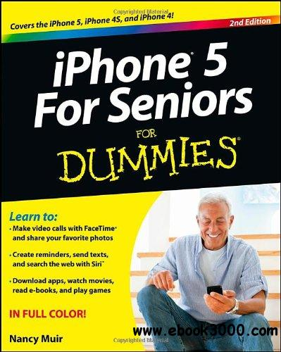 iPhone 5 For Seniors For Dummies, 2nd edition free download
