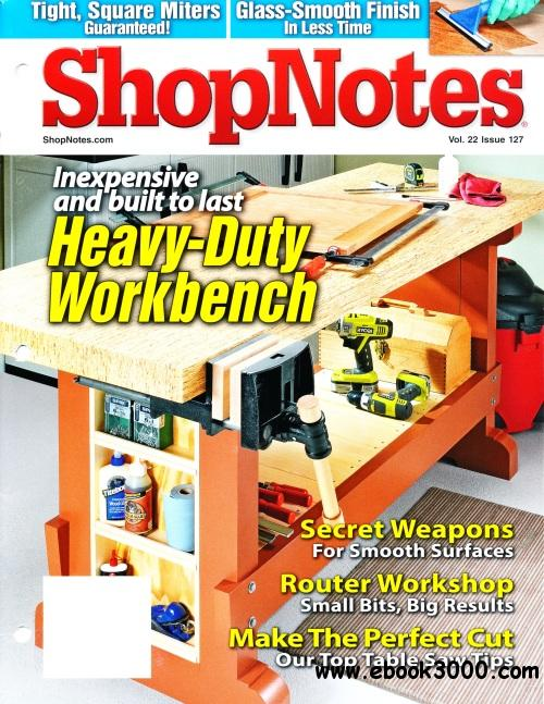 ShopNotes Issue #127 free download
