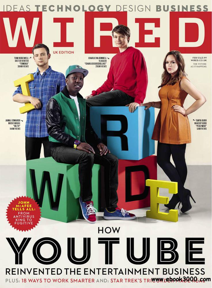 WIRED February 2013 (UK) free download