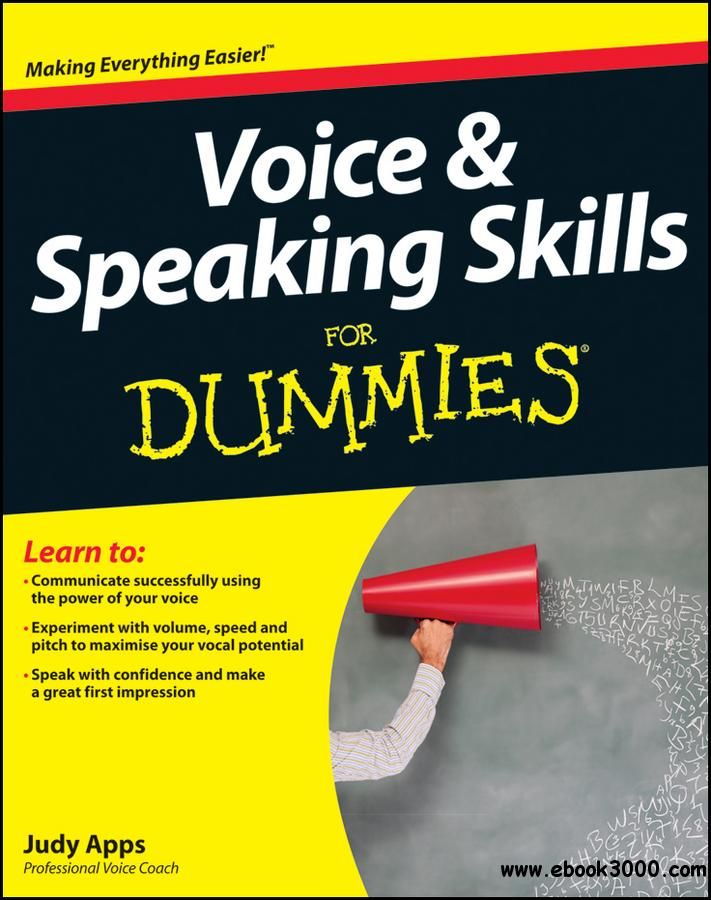 Voice and Speaking Skills For Dummies free download