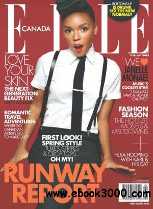 Elle Canada - February 2013 free download