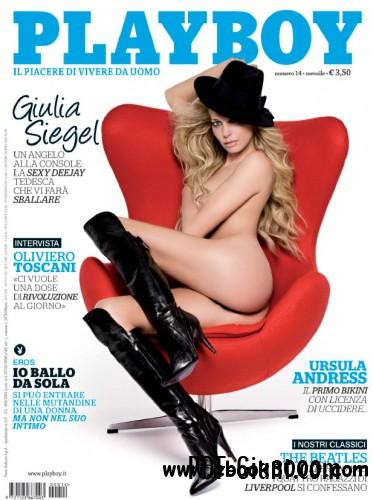 Playboy Italy - April 2010 free download