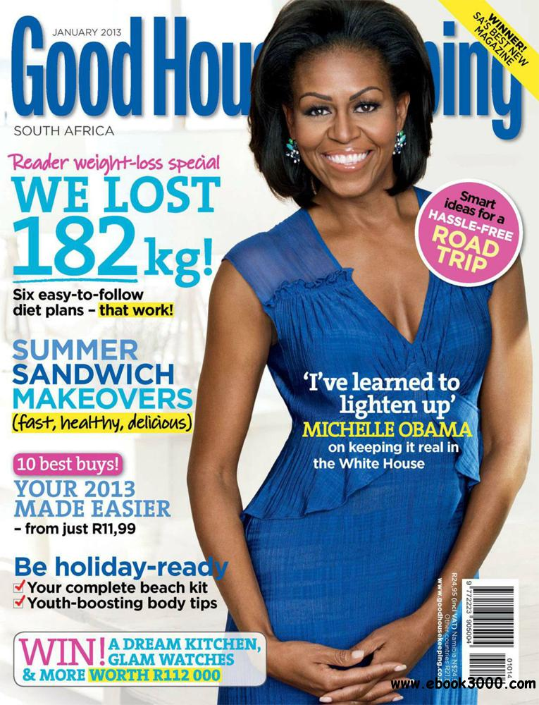 Good Housekeeping January 2013 (South Africa) free download