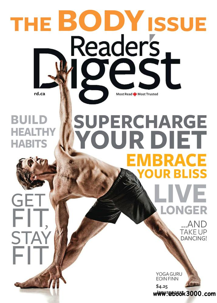 Reader's Digest January 2013 (Canada) free download