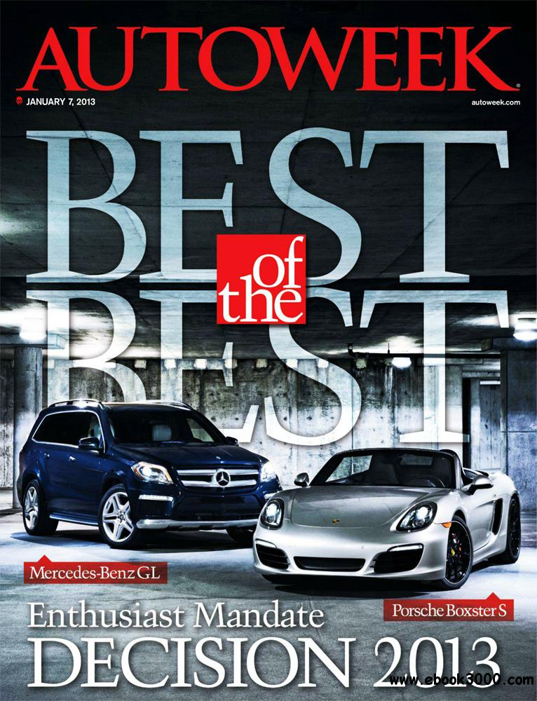 Autoweek 7 January 2013 (USA) free download