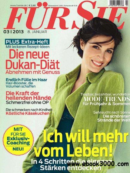 Fur Sie Magazin No 03 vom 08 Januar 2013 free download