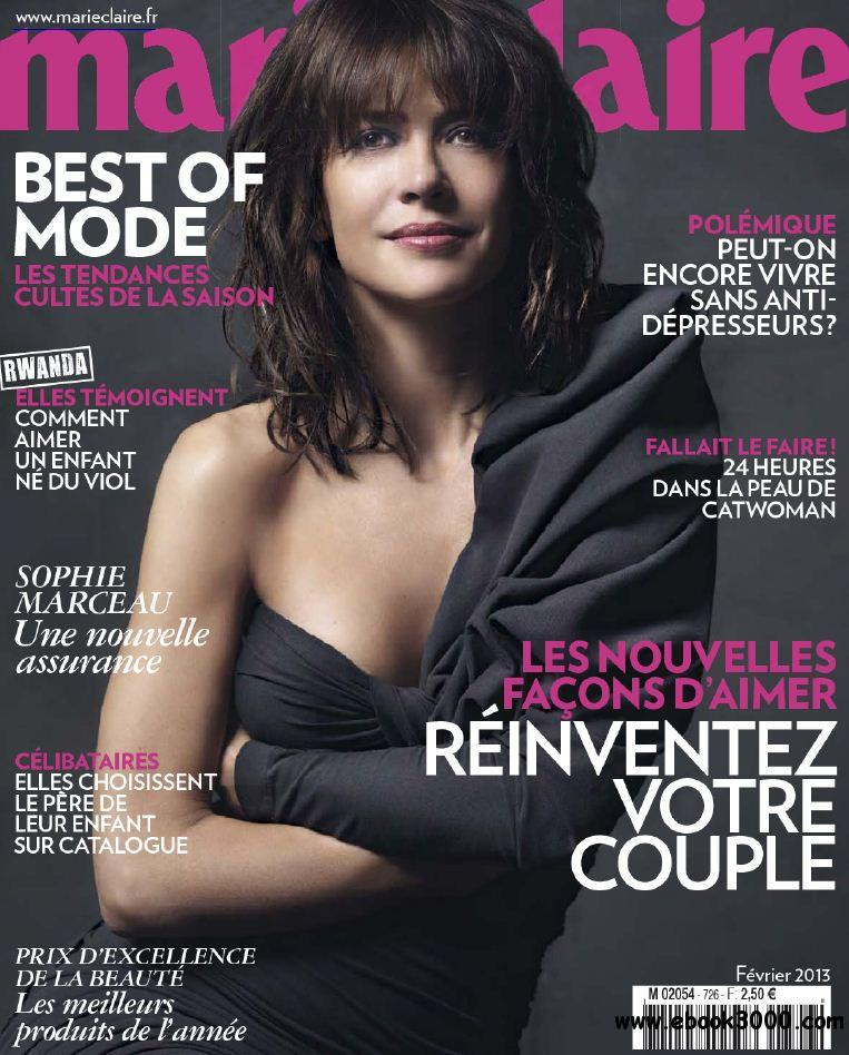 Marie Claire 726 - Fevrier 2013 free download