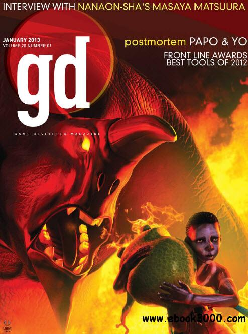 gd (Game Developer) Magazine N.01 / Vol.20 - January 2013 free download