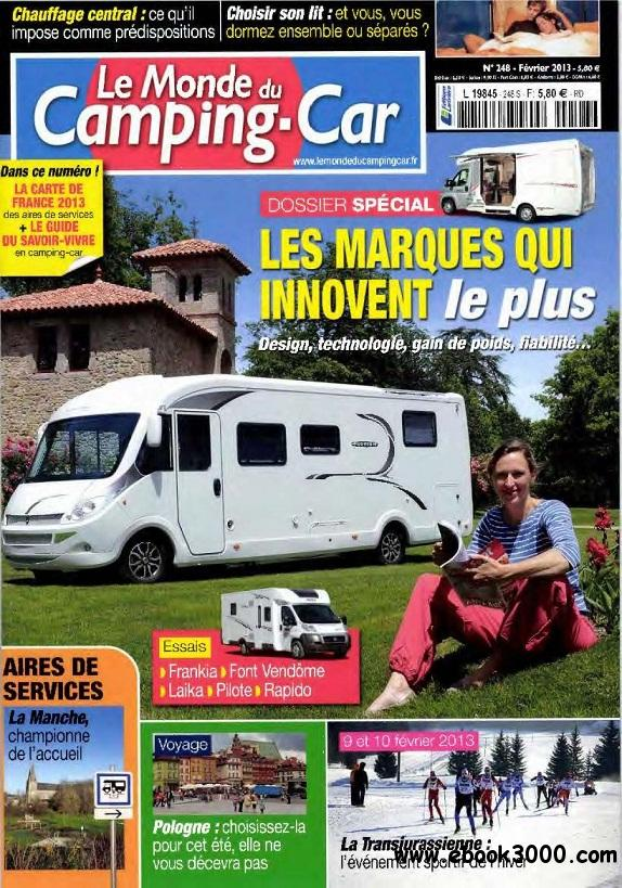 Le Monde du Camping Car N 248 - Fevrier 2013 free download