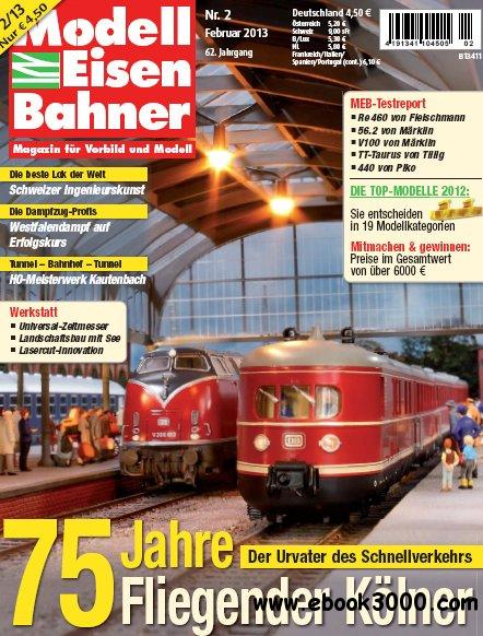 Modelleisenbahner Magazin Februar No 02 2013 free download