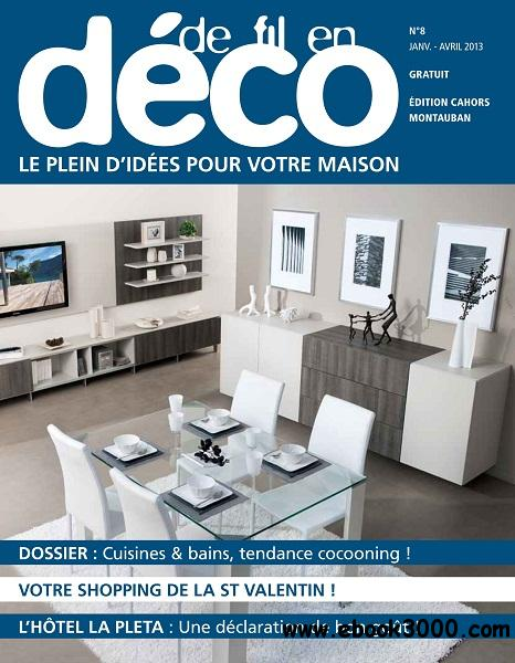 De Fil En Deco - Janvier-Avril 2013 free download