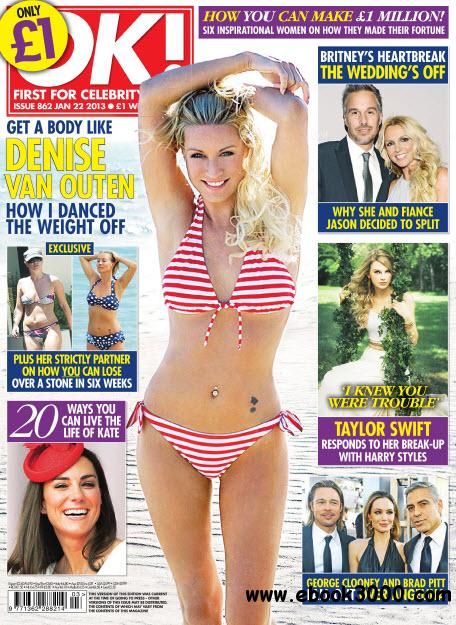 OK! First for Celebrity News N.862 - January 22, 2013 free download