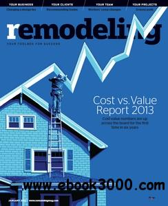 Remodeling Magazine - January 2013 free download
