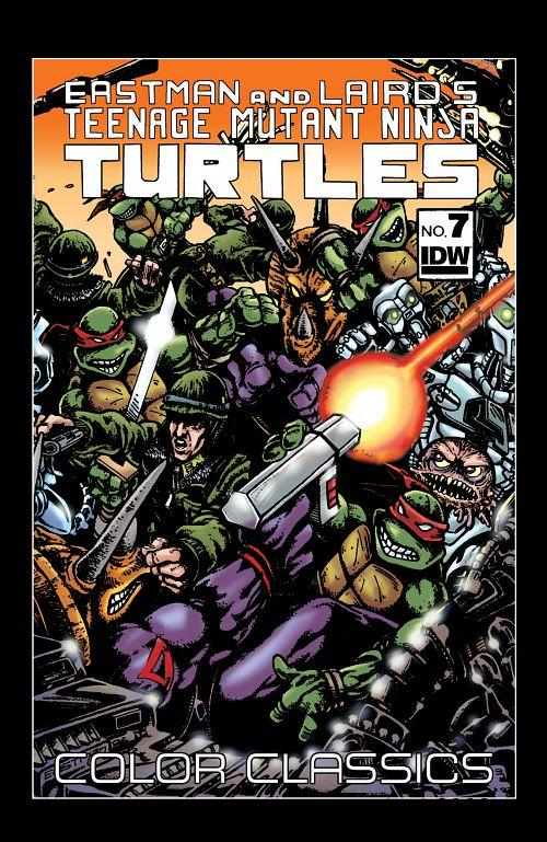 Teenage Mutant Ninja Turtles Color Classics 007 (2013) free download