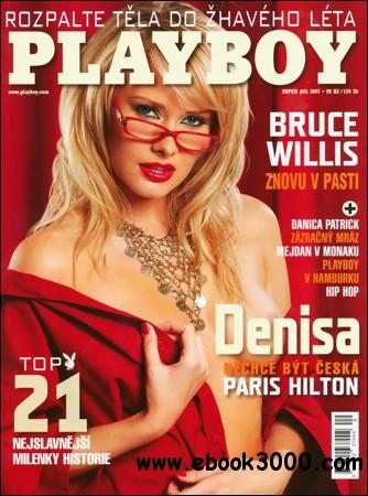 Playboy's Magazine - August 2007 (Czech Republic) free download
