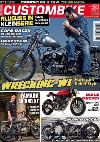Custombike Magazin Februar No 02 2013 free download