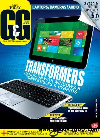 Gadgets and Gizmos - February 2013 (True PDF) free download