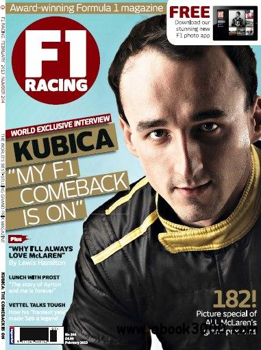 F1 Racing UK - February 2013 (True PDF) free download