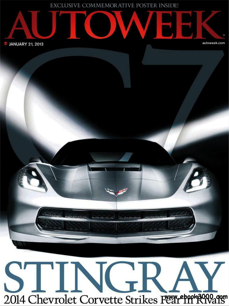 Autoweek 21 January 2013 (USA) free download